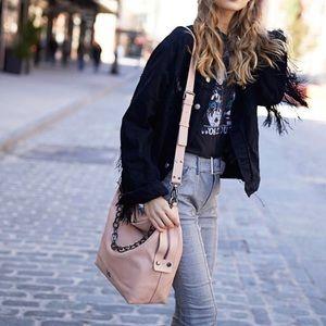 Kooba Blush Large Dante Shoulder bag Chain Leather